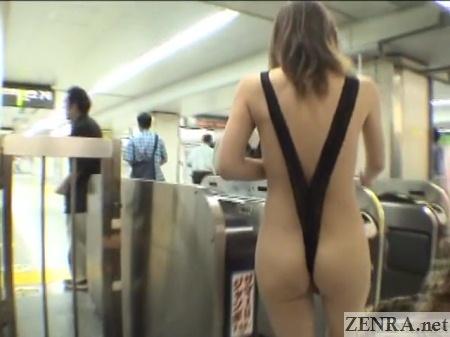subway public nudity japan