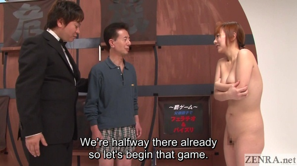 japanese cmnf enf game show