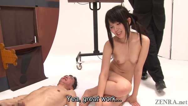 embarrassed post cumshot jav game show challengers
