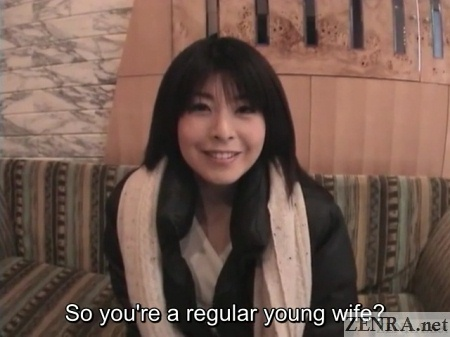 young japanese wife love hotel