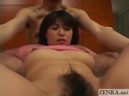 spread eagle exposed unfaithful japanese wife