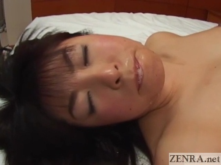 cum in mouth unfaithful japanese wife