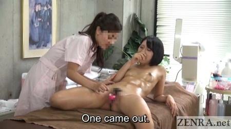 japanese lesbian massage clinic internal stimulation