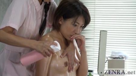 compressed air jav bizarre nipple massage