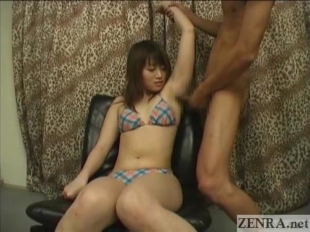 bizarre japanese armpit job