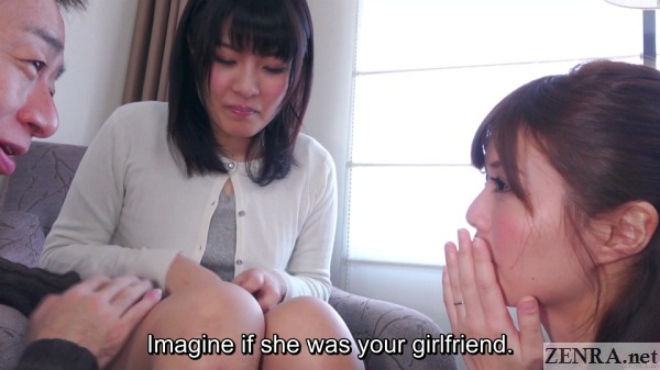 real japanese young mothers hotel threesome party begins