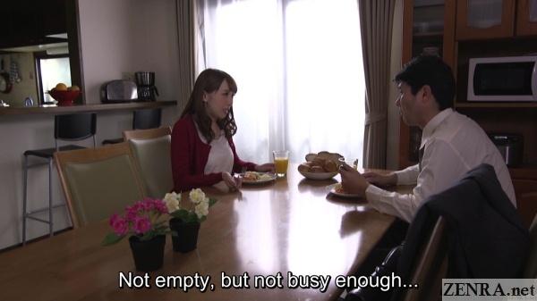 dinner time aya kisaki and husband