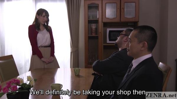 yakuza visit aya kisaki at home