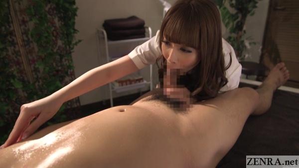 cfnm jav massage blowjob with nipple rubbing