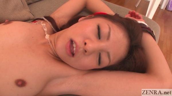 close up hikaru aoyama orgasm face