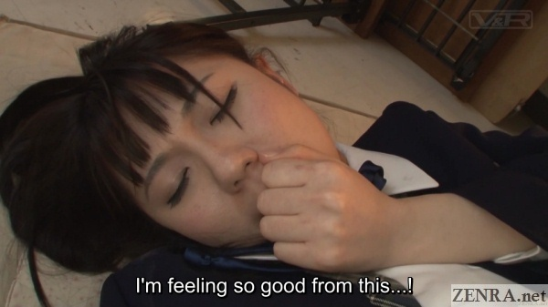 jav star mai araki pleasure face
