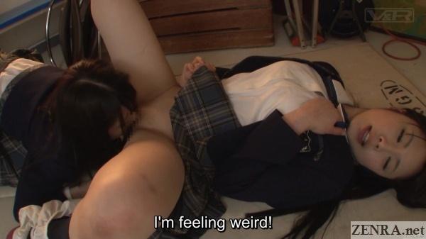 japanese schoolgirl lesbian cunnilingus