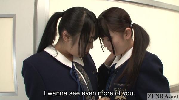 intimate jav schoolgirls in classroom