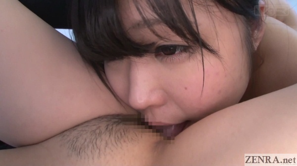 yui kawagoe lesbian cunnilingus close up