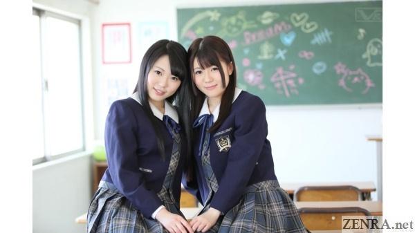 yuri japanese schoolgirls lesbians forever