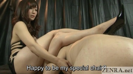 jav mistress rests on slave