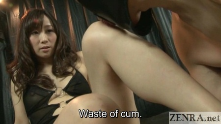 japanese slave licks leg of mistress