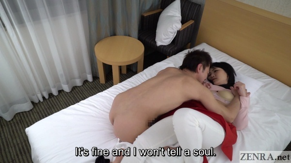 naked horny client with hotel masseuse japan