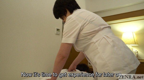 mature thick japanese hotel masseuse