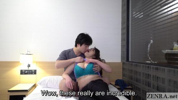 milf jav masseuse kissing client