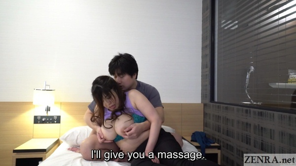 busty masseuse nipples massaged