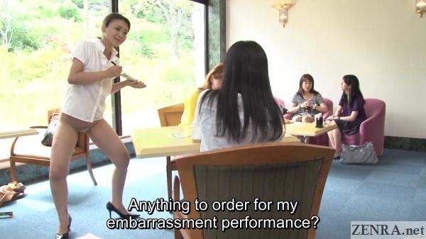 bottomless crazy japanese waitress