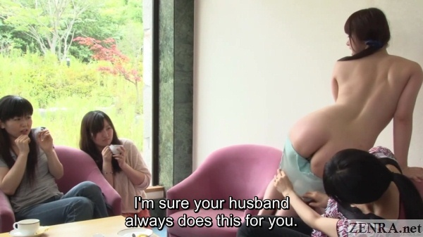 housewife strips off tsubaki katous panties