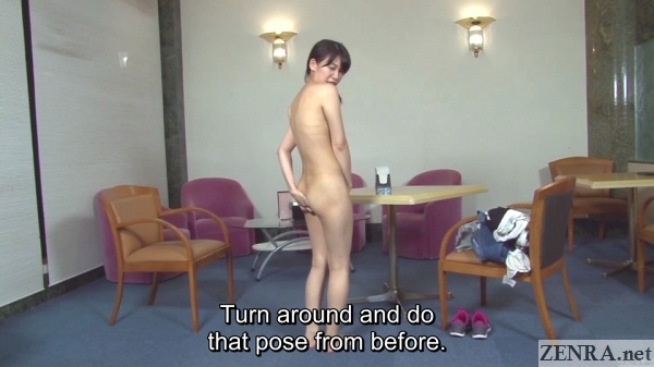 embarrassed and naked jav assistant director