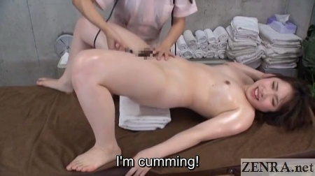 accidental orgasm from aroma sonic at japanese massage clinic