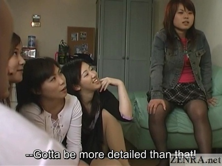 lewd japanese women cfnm party