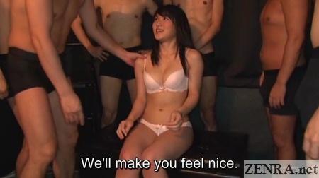 nana usami in lingerie sex play begins