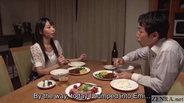 dinner time yuki jin