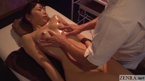 erotic japanese oil massage