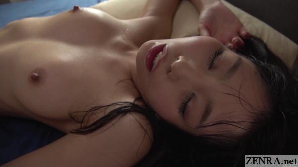 japanese av star yuki jin after creampie sex