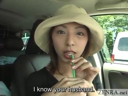 jav infidelity interview in car