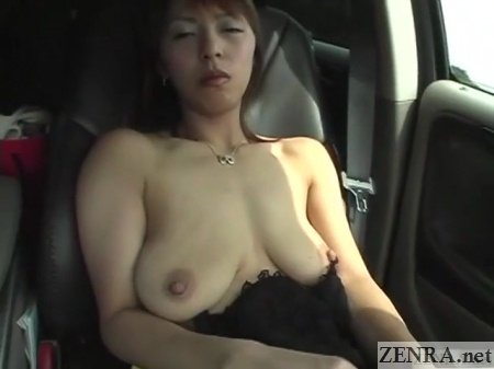saggy tits jav wife car ride to infidelity