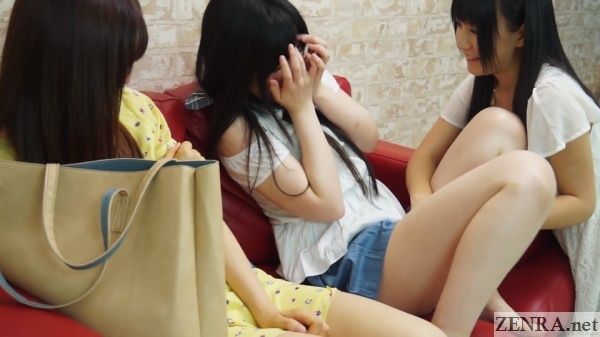 jav star konishi marie uses vibrator on pale amateur