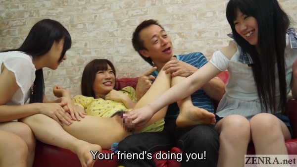 ghostly pale jav amateur uses vibrator on friend