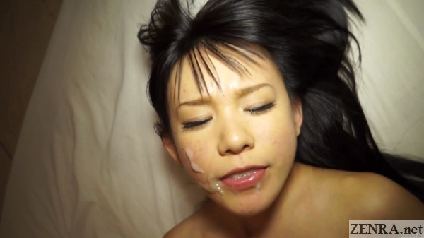 cum on face jav star marie konishi