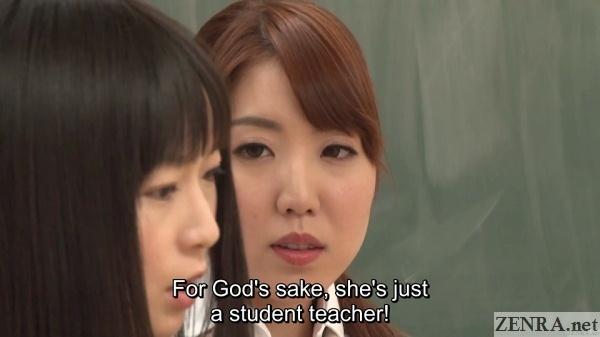nozomi hazuki protecting student teacher