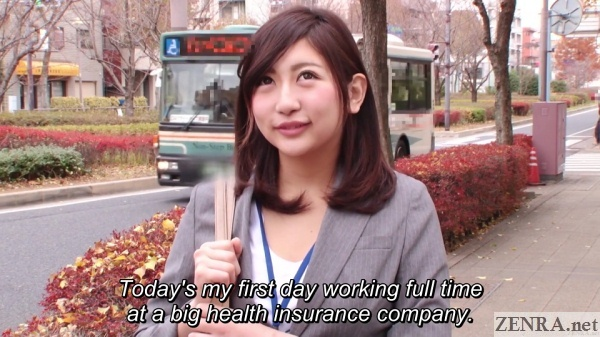 yuna shiratori new hire first day at work