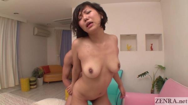 kei nishizono standing sex from behind
