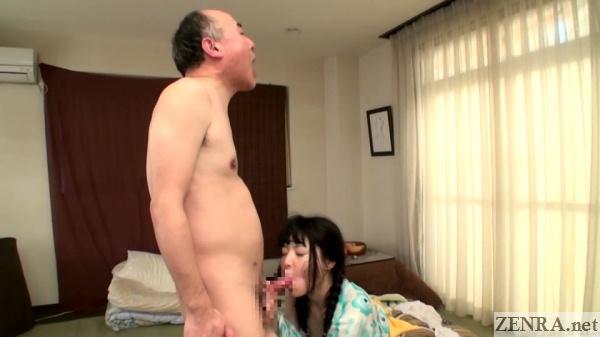 post coitus bukkake blowjob by nagomi