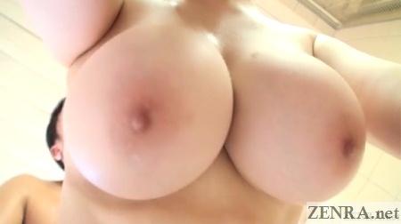 huge hanging japanese breasts