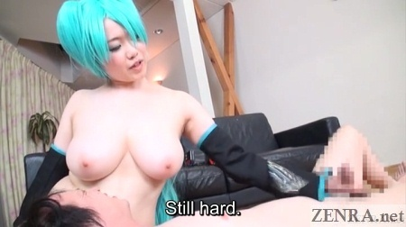 bit tits jav cosplay handjob