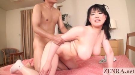 bbw japanese av star doggystyle sex
