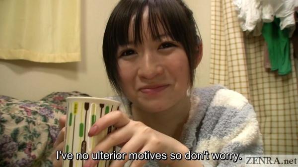 grinning pale japanese amateur