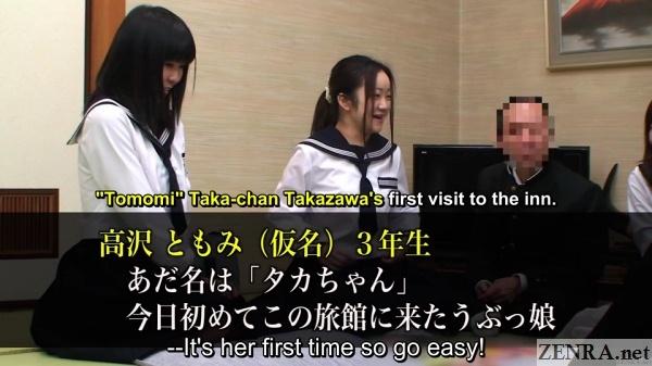 takazawa saaya visits schoolgirl orgy club