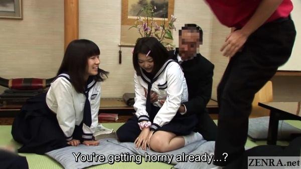 groping japanese schoolgirl at ryokan