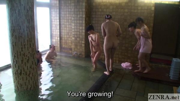 shy jav schoolgirls mixed bathing onsen